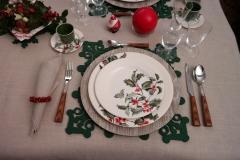 Noël Houx - Assiette