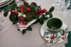 Noël Houx - Coupe et compo