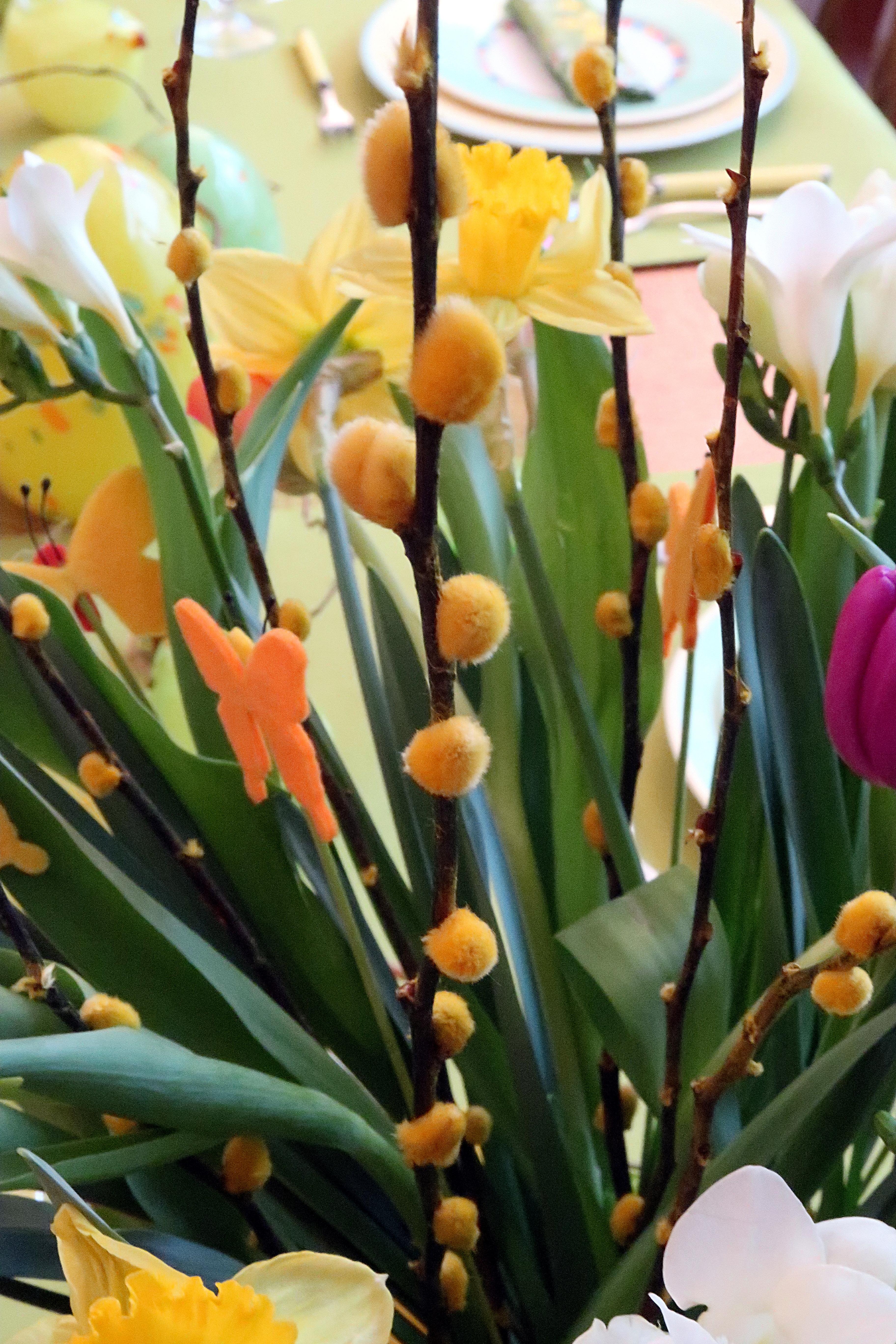 Oeufs de Pâques - Bouquet