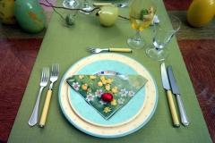 Oeufs de Pâques - Assiette