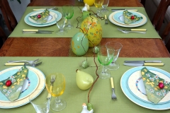 Oeufs de Pâques - Table