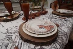 OUAT - Assiette renard et table