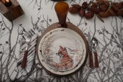 OUAT - Assiette renard