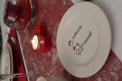 Saint-Valentin-Rose-petite-assiette