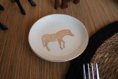 Voyage-Afrique-Pette-assiette-zèbre
