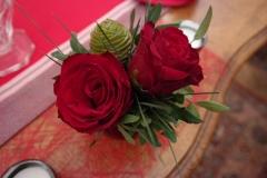 Casse-Noisette - Roses rouges
