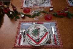 Noël et tradition - Assiette