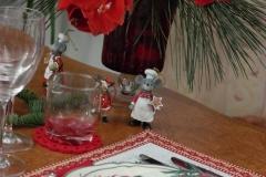 Noël et tradition - Souris assiette