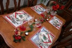 Noël et tradition - Table