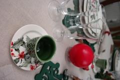 Noël Houx - Coupe et bougie