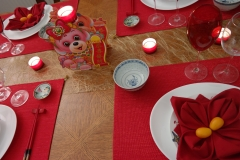Nouvel an Chinois - Centre table