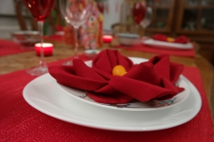 Nouvel an Chinois - Serviette Lotus